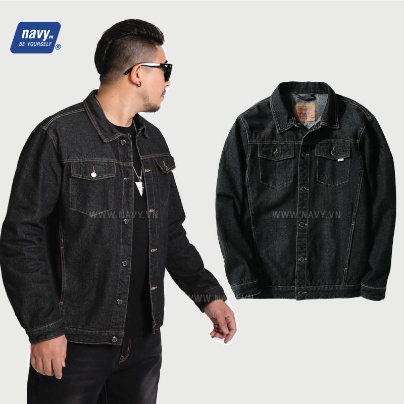 áo khoác jean big size